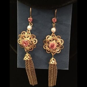 NWT Avon Filigree Earrings
